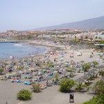 Adeje beach