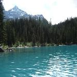 Canoeing at Moraine Lake