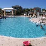 Family pool area