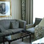 Lounge in Superior Double
