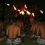 Kecak dance performed at the Chedi - one of the best on Bali
