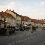 Downtown Samobor outside the Livadic