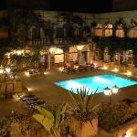 Cornucopia at night (small pool)