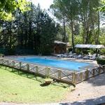 The pool of Hotel Villa la Castellane