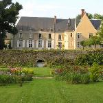 New view of the Chateau from the Garden