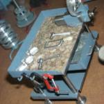 Tiny machinist's workbench by John Aschauer