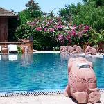 The Hotel @ Tharabar Gate Pool and sun loungers