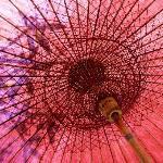 Sun parasol at The Hotel @ Tharabar Gate Pool