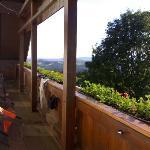 Room 6 - the 2nd floor balcony (taken July 2007)