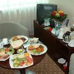 Breakfast Room Service (Suite Living Room)
