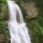 Bushkill Falls as seen from the lower boardwalk