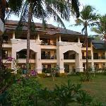 spacious balconies to each room