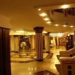 Inside the Helena Sands, just outside the Restaurant.. sorry its blurred!