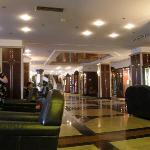 Inside the Helena Sands, in the Lounge Bar