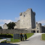 Ross Castle - as approached from Ross Road (car)