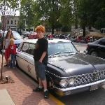 Mayberry Cafe squad car