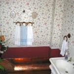 Historic Copper Tub Bath - No Longer Used