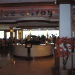 View of Restaurant from Lobby Area