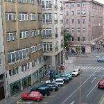 View from apartment - looking to Jecna
