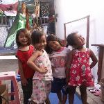 Adorable local children