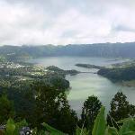 View of the Sete Cidades