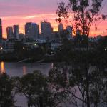 Brisbane from apartment