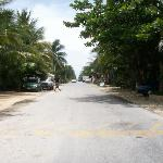 The beach road