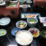 Japanese breakfast (not so good!)