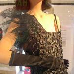 Dress made from  liquorice