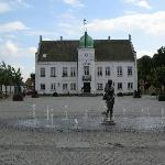 Town Square with Tourist Bureau