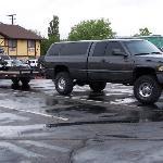 Le parking et ses