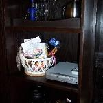 Basket of reasonably charged goodies