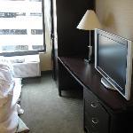 Bedroom dresser w/ BIG plasma TV
