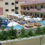 The VIP accommodation with private pools