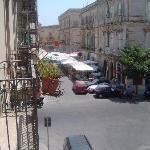 Las vistas. Pleno centro Ortigia