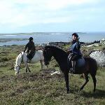 Riding at Errislannan