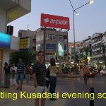 Typical Evening  in Kusadasi