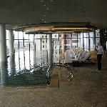 the indoor infinity pool
