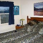 slightly 70s style honeymoon suite