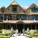 Winchester House of Mystery a short drive away