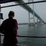 The Bay Queen- cruising under the Newport Bridge