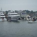 Newport Harbor from the Bay Queen