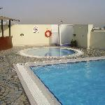 The Pool and Jacuzzi