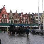 A damp day in Brugge