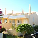Villa and terrace