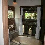 Chambre supérieure- Salle de bain