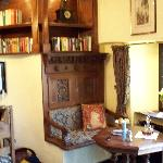 A pleasant place to enjoy sherry (or read)
