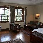 Bedroom at the Cecil Hotel, Shimla