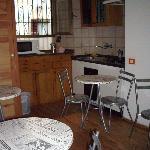 The breakfast/Kitchen area