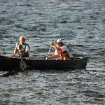 Canoeing on Moosehead Lake